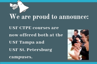 USF St. Pete announcement