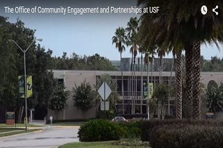 The Office of Community Engagement and Partnerships at USF