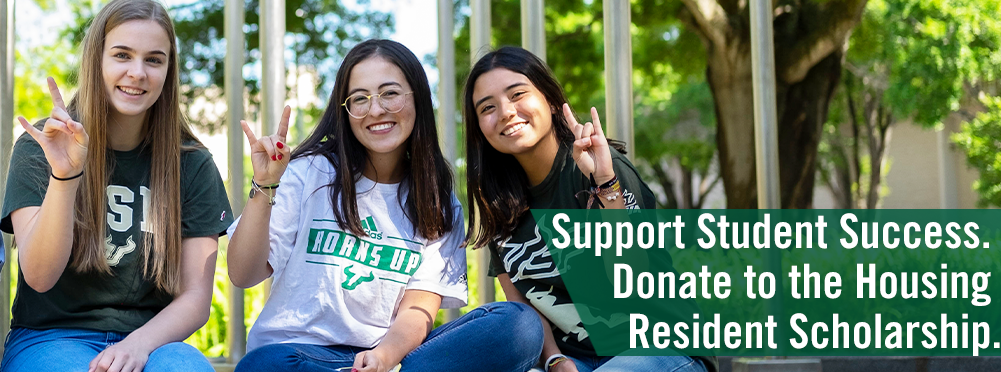 Donate to the USF Housing Resident Scholarship