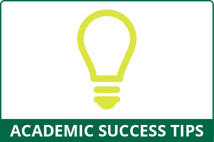 Academic Success Tips button