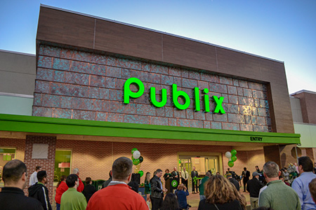 Photo of the on-campus publix enterance.