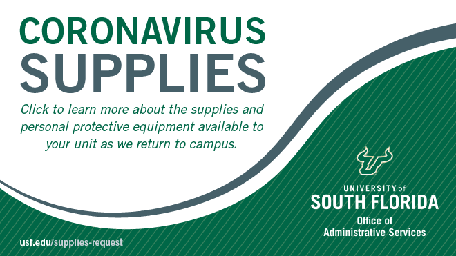 Learn more about the supplies and personal protective equipment available to your unit as we return to campus.