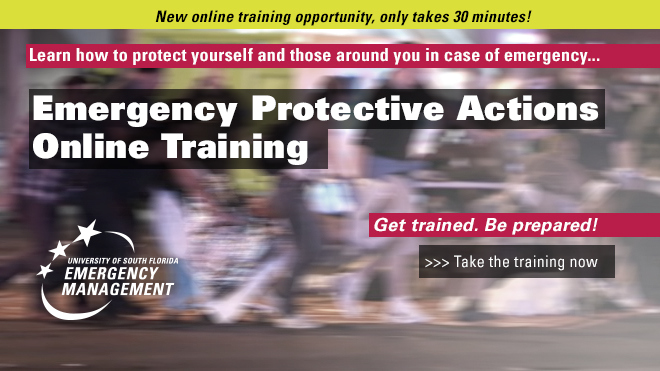 Emergency Protective Actions Online Training