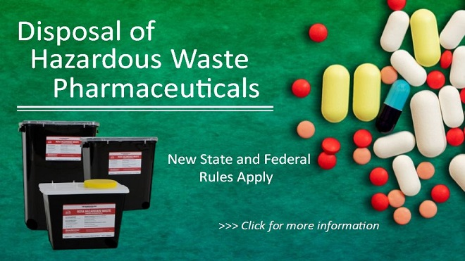 Hazardous Waste Pharmaceutical Disposal