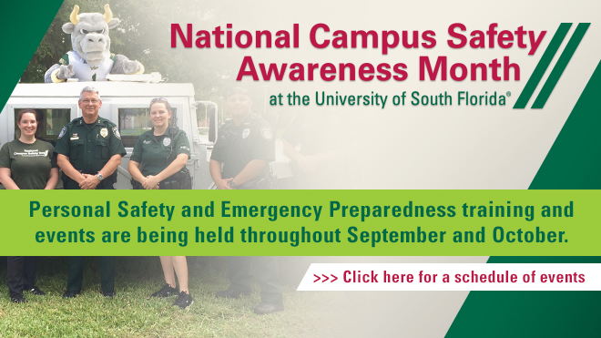National Campus Safety Awareness Month