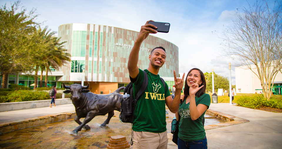 USF Tampa Students