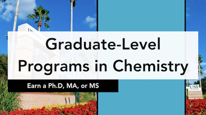 Welcome to the Chemistry Graduate Program