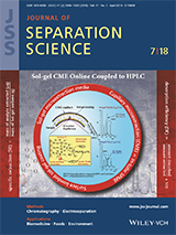 Malik on Journal of Separation Science Cover