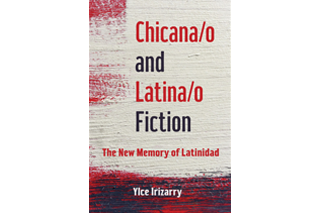 "Image shows book cover of Ylce Irizarry's ""Chicana/o and Latina/o Fiction: The Memory of Latinidad"""