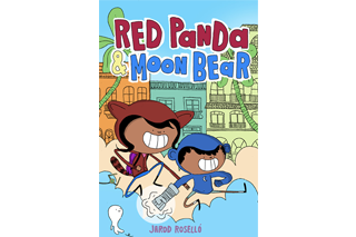 "Cover of Jarod Roselló's book ""Red Panda & Moon Bear"""