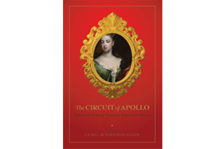 "Image shows cover of ""The Circuit of Apollo: Eighteenth-century Women's Tributes to Women"" by Drs. Runge & Cook"