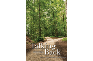 "Image shows cover of Norbert Elliot's book, ""Talking Back"""