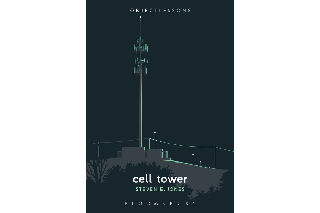 "Image shows cover of Steve Jones's book, ""Cell Tower"""