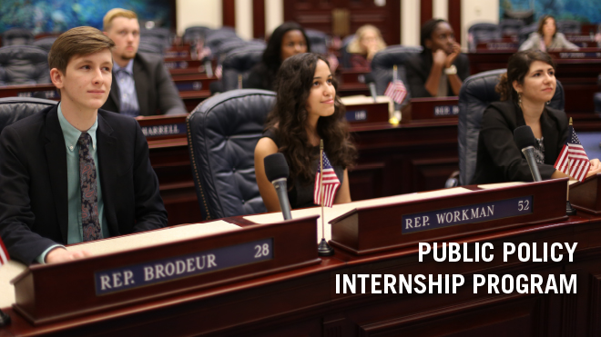 Public Policy Internship Program