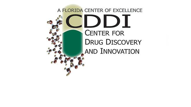 A Florida Center of Excellence, CDDI Center for Drug Discovery and Innovation Logo