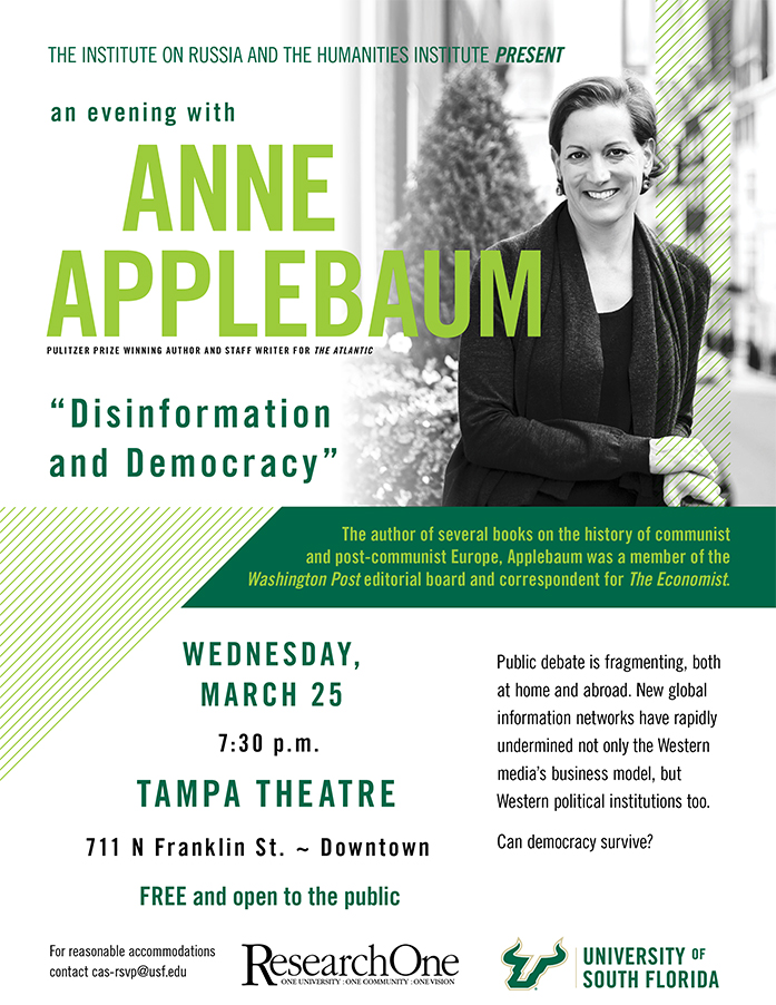 Anne Applebaum on Disinformation and Democracy