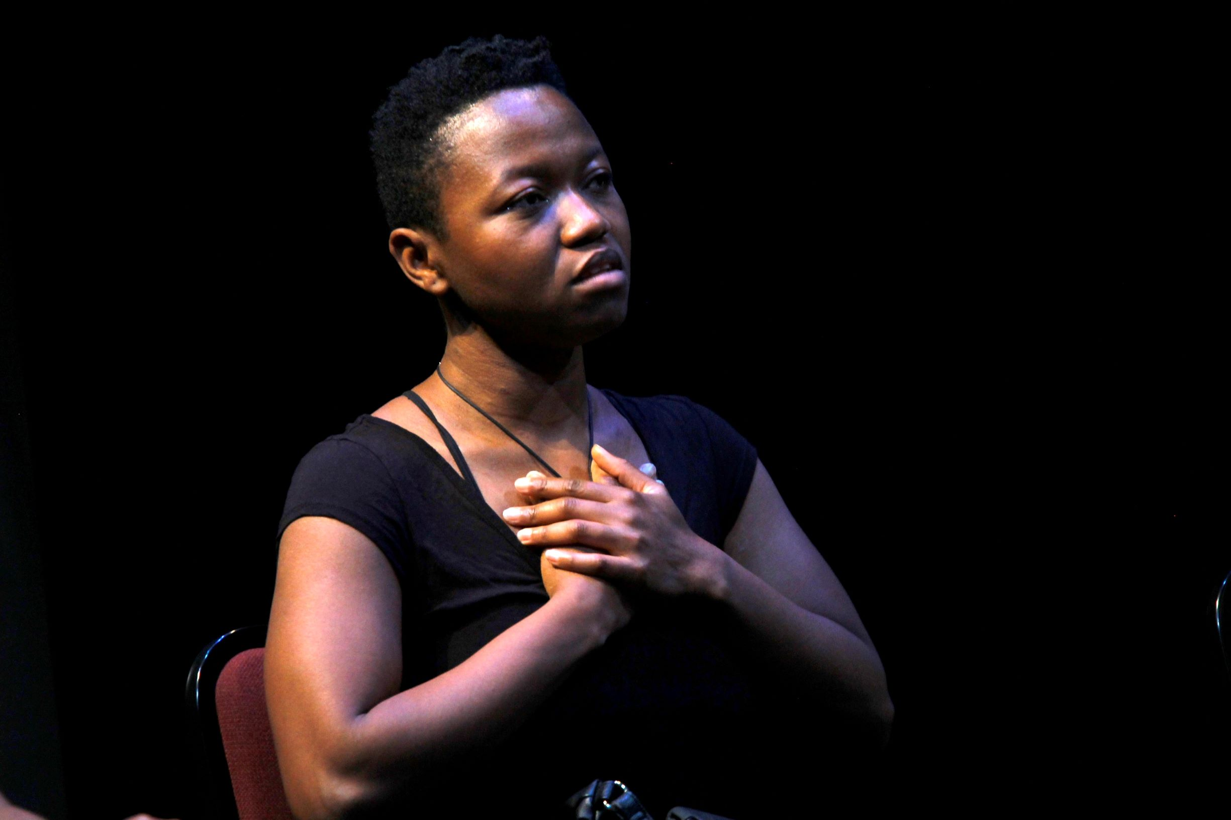 Dr. Omotayo Jolaosho in Three Women (Break the Silence), Photo by: Madoda Mkhobeni