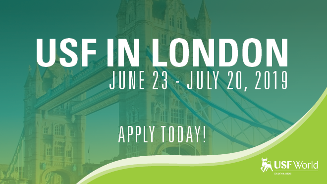USF in London. Apply now!