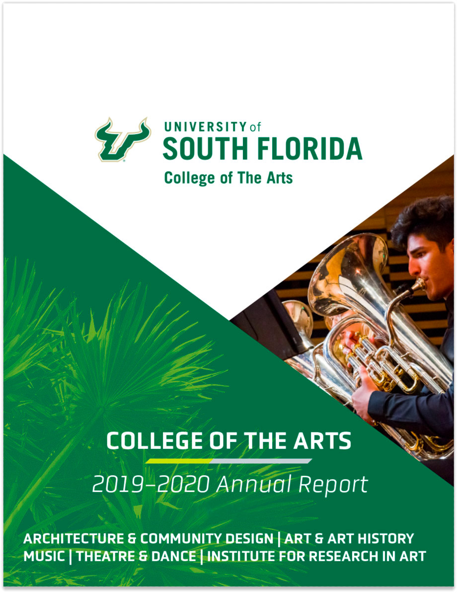Cover image of the 2019-2020 annual report