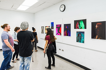 Student photography on display at ArtHouse