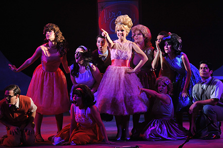 USF Theatre students perform the musical Hairspray.