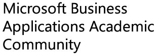 Microsoft Business Applications Academic Community