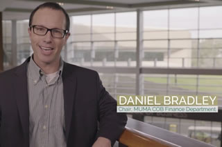 Daniel Bradley, Finance Department Chair