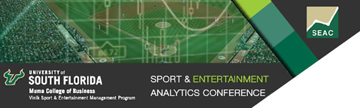 USF Sport & Entertainment Analytics Conference