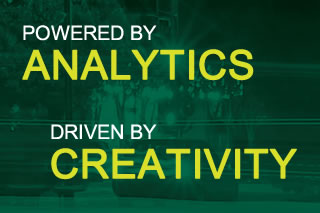 Powered by Analytics, Driven by Creativity