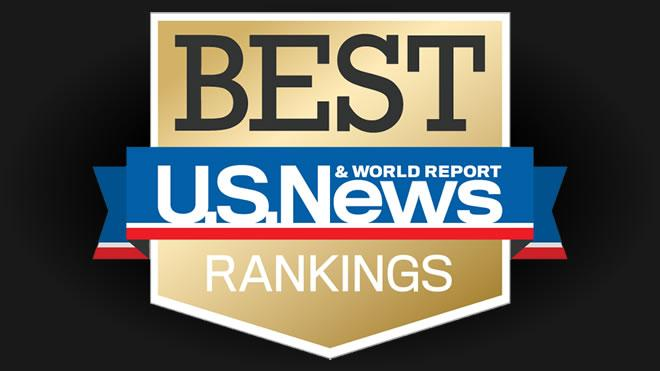 Best Rankings U.S. News & World Report logo
