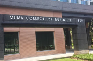 Muma College of Business building
