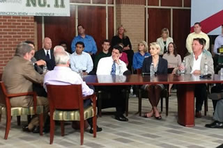 VP candidate Paul Ryan participates in roundtable discussion