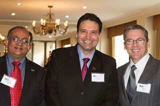 Kaushal Chair, Dean Moez Limayem, & Rob Carter