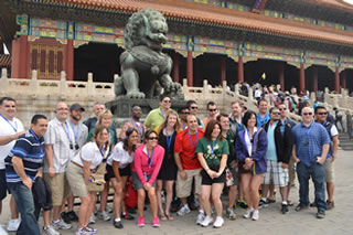 EMBA students in China