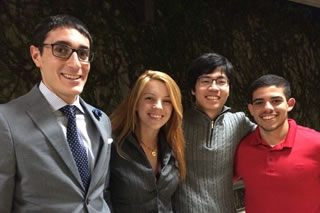 Ashlee Heirman, Dan Nguyen, Mohamed Bounaim, and Sam Samimi