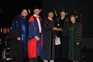 USF and USIL leaders at commencement