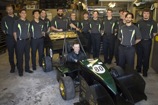 Matt Kenseth and USF Society of Automotive Engineers