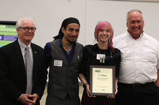LiveArt Laboratories win first prize