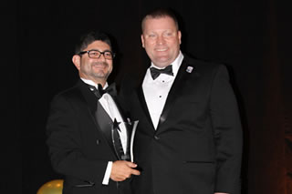 Javier Marin with Florida SBDC Network State Director, Mike Myhre