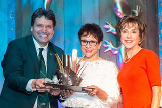 Moez Limayem, Sheila Johnson, and Judy Genshaft