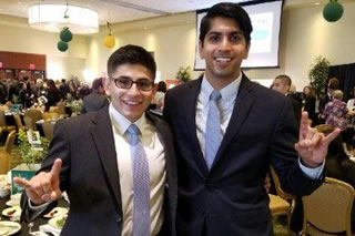 Luis Duque and Shivam Patel