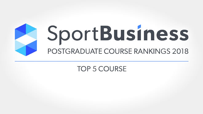 Vinik Sport & Entertainment Management Program Ranked Fourth Best in the World