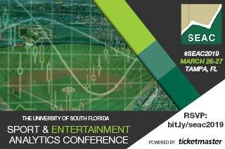 Sport & Entertainment Analytics Conference