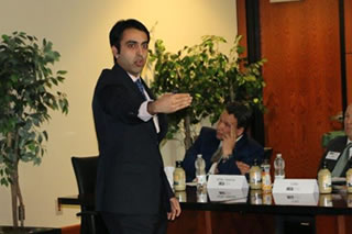 Sagar Samtani speaking to EAC