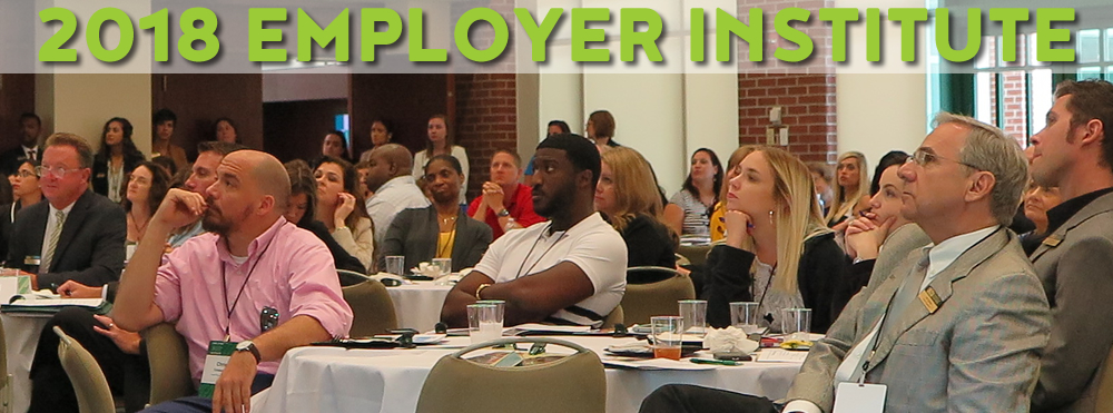 Register to attend our free Employer Institute!