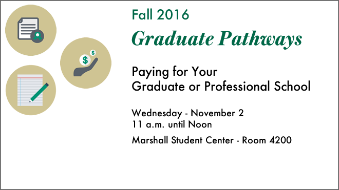 Graduate Pathways Workshop Announcement