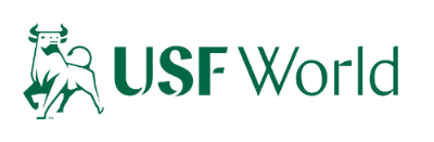 Logo for USF World