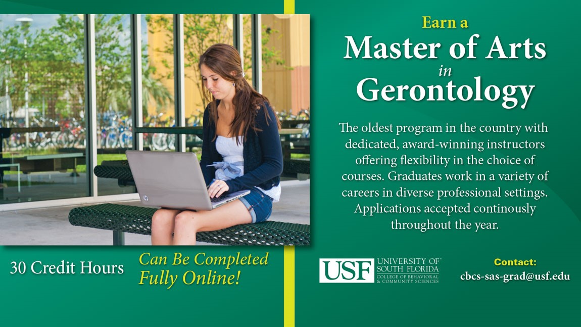 Master Program in Gerontology