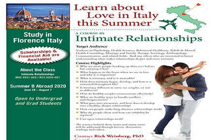 Study Abroad Italy 2020