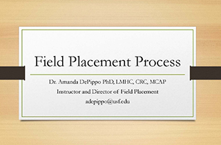 RMHC Field Placement